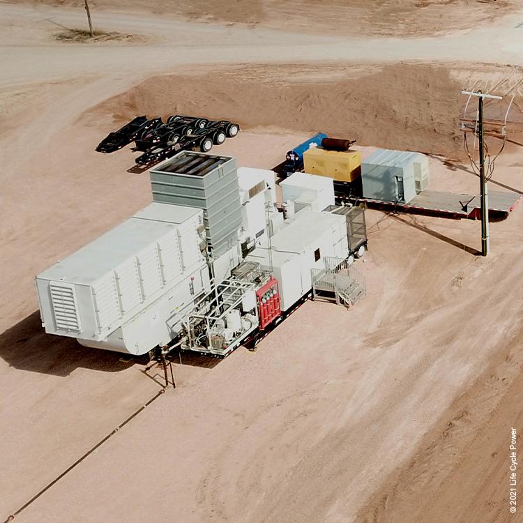 turbine fleet GE TM 2500